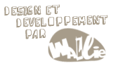 design et developpement par wallie