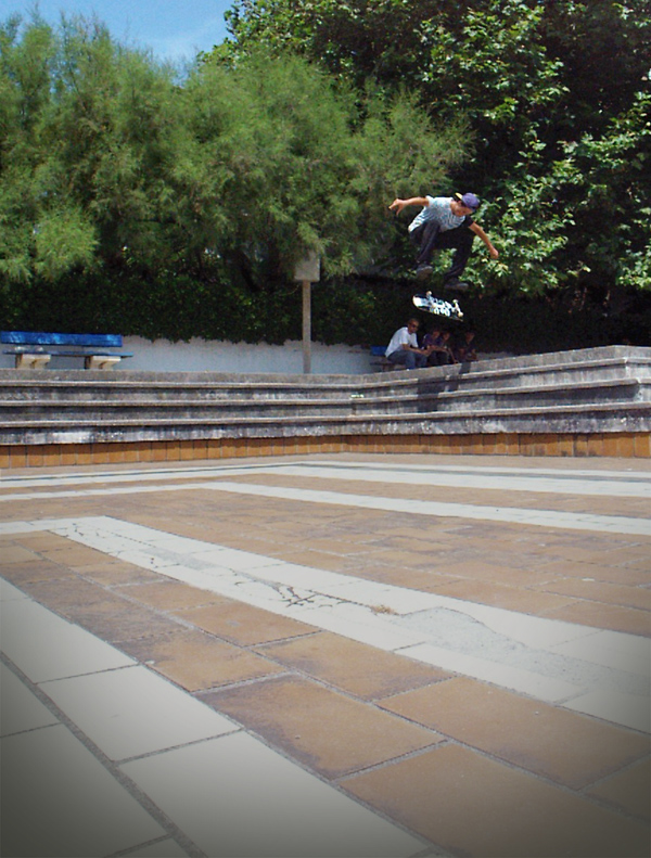 Valentin Agnus, switch heelflip